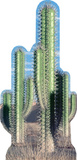Cactus Group Pappfigurer