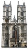 Westminster Abbey Silhouette en carton
