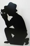 Photographer-Silhouette Silhouettes découpées en carton