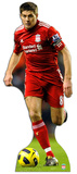 Liverpool FC-Steven Gerrard Action PAPPFIGUREN IN LEBENSGR&#214;SSE