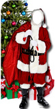 Father Christmas -Stand-In Cardboard Cutouts