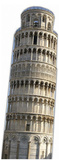 The Leaning Tower of Pisa Imagen a tamao natural