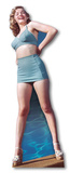 Marilyn Monroe -Blue Bikini Papfigurer