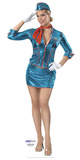 Air Hostess Pappfigurer