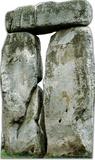 Henge Stonehenge Silhouettes en carton