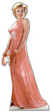 Marilyn Monroe -Peach Night-Gown Silhouette en carton