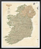 National Geographic Ireland Executive Style Posters