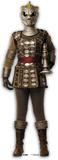 Doctor Who-Silurian Silhouette en carton