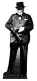 Winston Churchill Pappfigurer