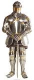 Knight in Shining Armour Silhouettes découpées en carton