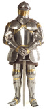 Knight in Shining Armour Pappfigurer