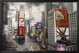 NEW YORK - Times square Aerial Photo