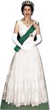 Queen Elizabeth II- 1956 Silhouette en carton