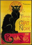 Tourn&#233;e du Chat Noir, c.1896 Mounted Print by Th&#233;ophile Alexandre Steinlen