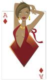 Diamonds Babe Silhouettes en carton