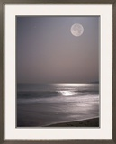 Full Moon Framed Photographic Print by Mitch Diamond
