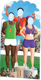 Olympic Games Stand-In Cardboard Cutouts