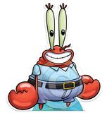 Mr Krabs Silhouettes découpées en carton