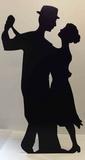 Salsa Dancer -Silhouette Silhouettes découpées en carton
