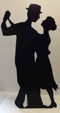 Salsa Dancer -Silhouette Pappfigurer