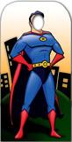 Superhero Stand- In Silhouettes découpées grandeur nature