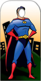 Superhero Stand- In Postacie z kartonu