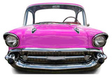 Pink Car Small -Stand-In Postacie z kartonu