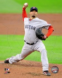 Josh Beckett 2012 Action Photographie