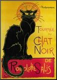 Chat Noir Reproduction montée par Théophile Alexandre Steinlen