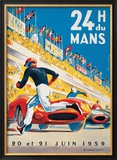 Le Mans 20 et 21 Juin 1959 Prints by Beligond 