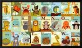 Alfabeto de Animais Posters por Jenn Ski