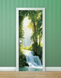 Zaragoza Falls Door Wallpaper Mural Vægplakat