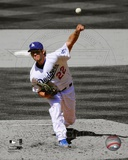 MLB Clayton Kershaw 2012 Spotlight Action Photo