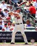 Dan Uggla 2012 Action Photo