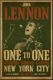 John Lennon Mounted Print
