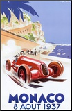 Monaco, 1937 Mounted Print by Geo Ham