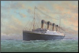 Titanic Mounted Print by Edward Walker