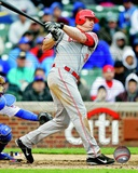 Jay Bruce 2012 Action Photo