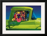 I Wanna Go Prints by Ron Burns