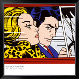 In the Car, c.1963 Prints by Roy Lichtenstein