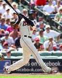 Jason Heyward 2012 Action Photo