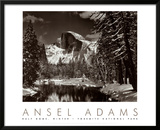 Half Dome, Merced River, Winter Prints by Ansel Adams