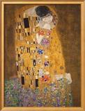 The Kiss, c.1907 Framed Art Print by Gustav Klimt