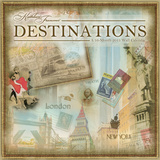 Destinations - Kathleen Francour - 2013 Linen Calendar Calendars