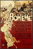 La Boheme, Musica di Puccini Mounted Print by Adolfo Hohenstein