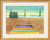 Beach Walk Prints by Robin Renee Hix