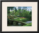 The 12th At Augusta Poster by Larry Dyke