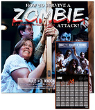 How to Survive a Zombie Attack! - 2013 Calendar Calendars