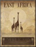 East Africa Monteret tryk af Ben James