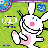 It's Happy Bunny - 2013 DVD Calendar Calendarios